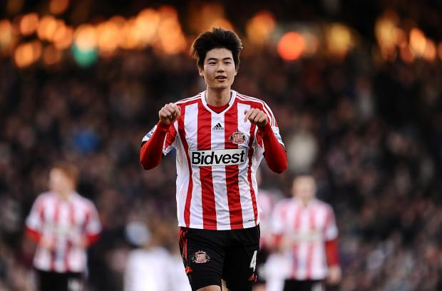 GOING HOME: Ki Sung-yeung, who played for Sunderland last season, will take no further part in this World Cup