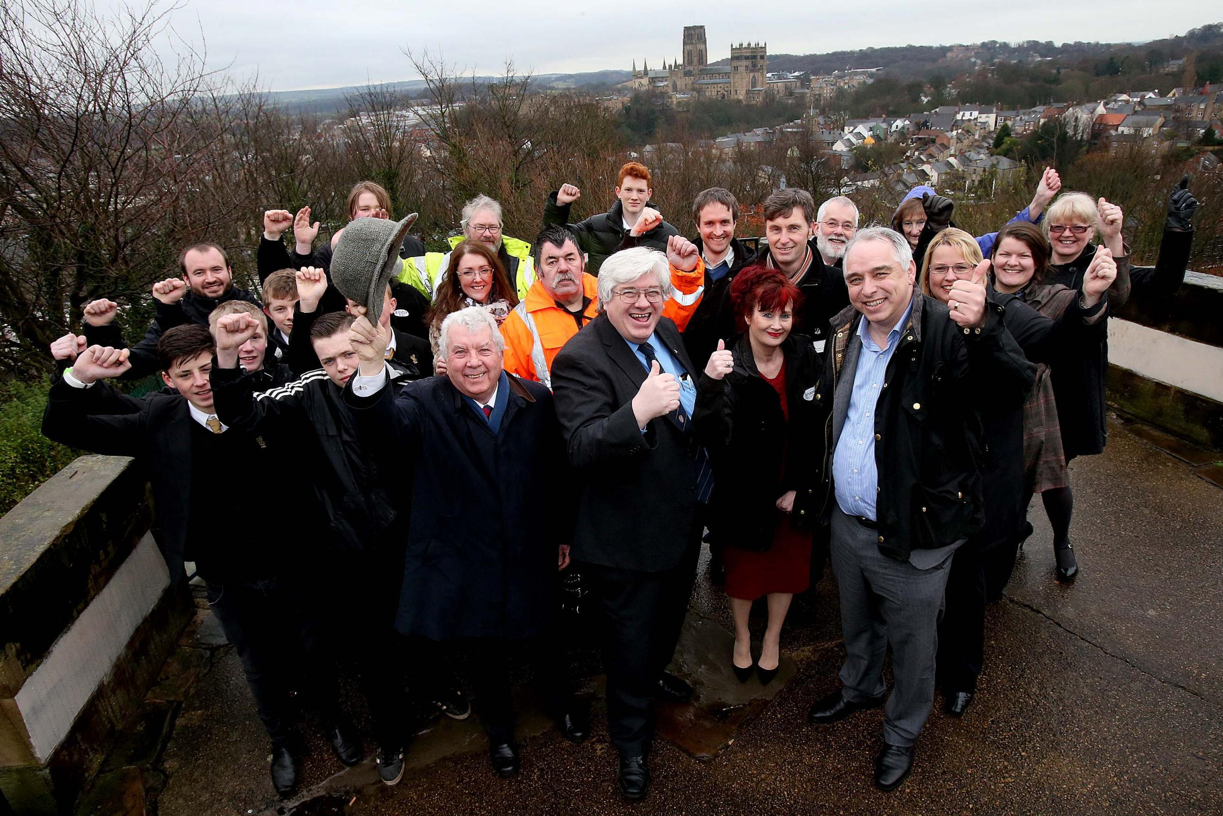 Thumbs up for Wharton Park revamp