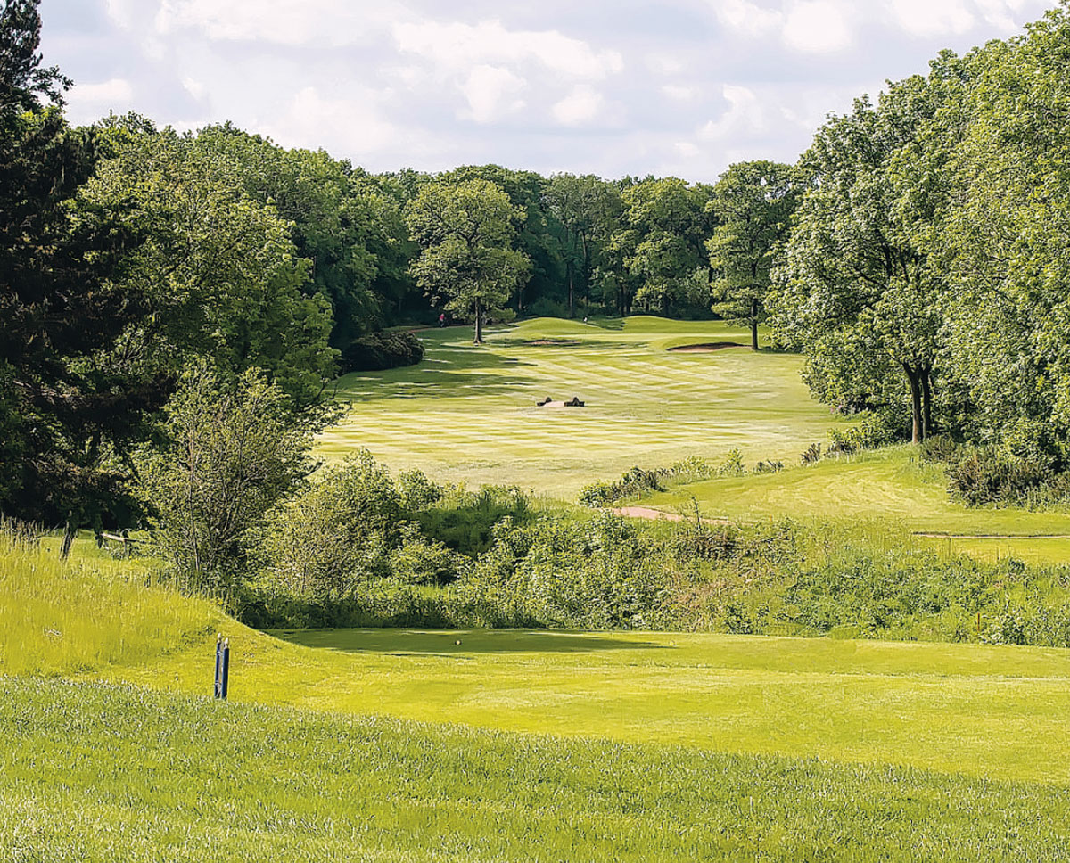 GOOD TIMES: Middlesbrough Golf Club opened in 1939, designed by renowned golf course designer James Braid, is looking forward to an important 2014