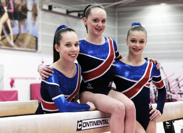 The Northern Echo: TALENTED TRIO: Amy Tinkler,