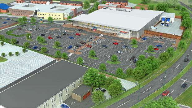 The Northern Echo: NEW STORE: How the new Tesco in Stanley would look