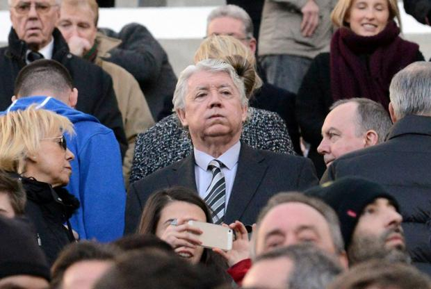 Gone: Joe Kinnear has left Newcastle but Alan Pardew would be happy to have another director of football