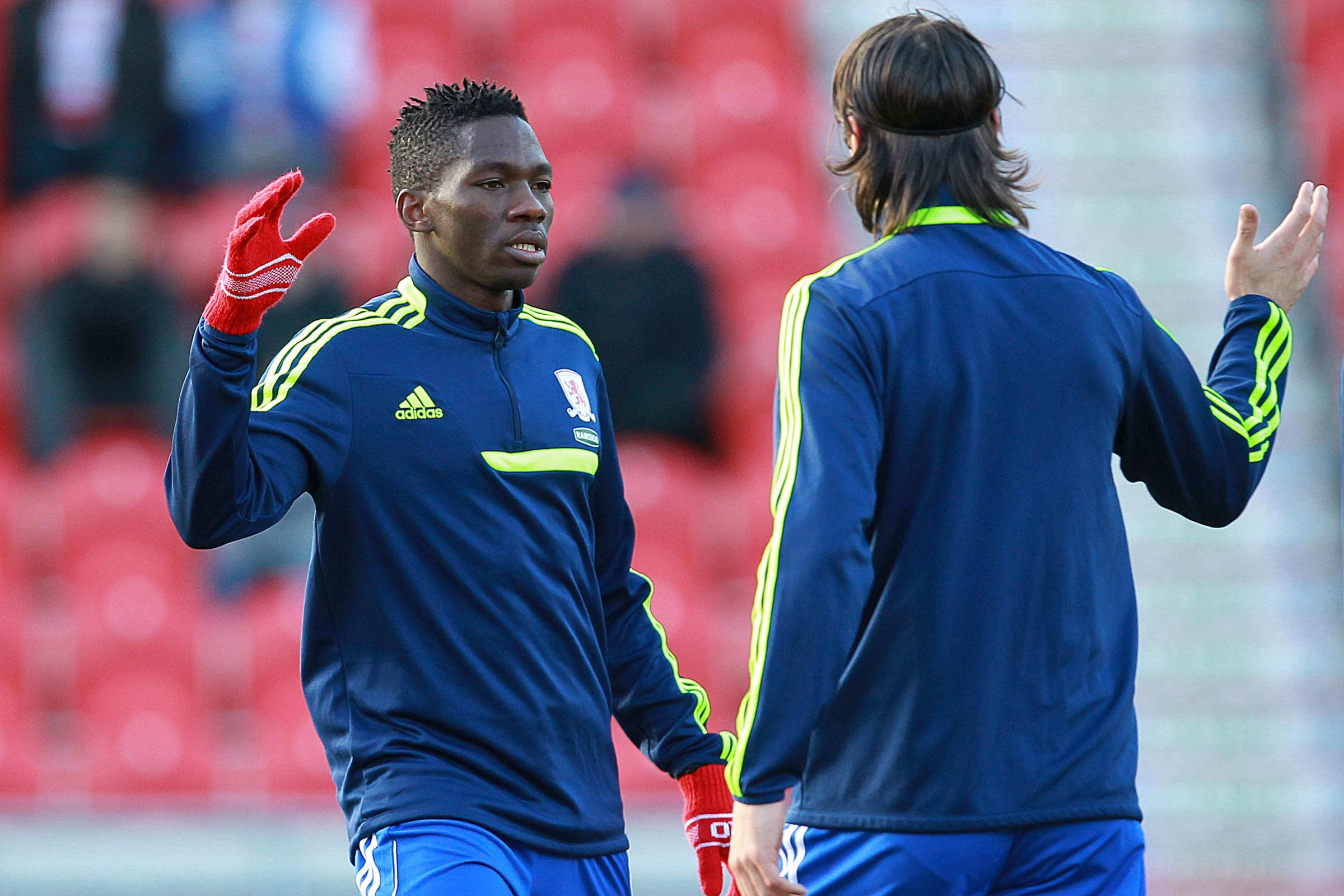 Boro boy: Kenneth Omeruo is enjoying playing for Middlesbrough