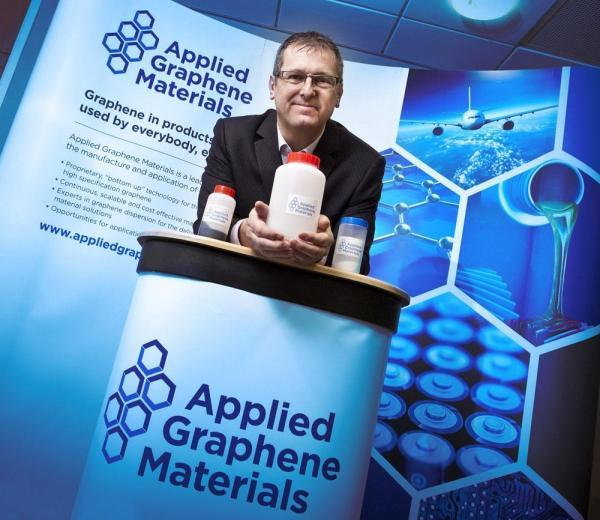 The Northern Echo: Jon Mabbitt, Applied Graphene Materials' chief executive