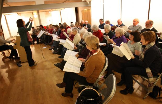 Bishop Auckland Choral Society prepare for the latest concert Brahms' Requiem.