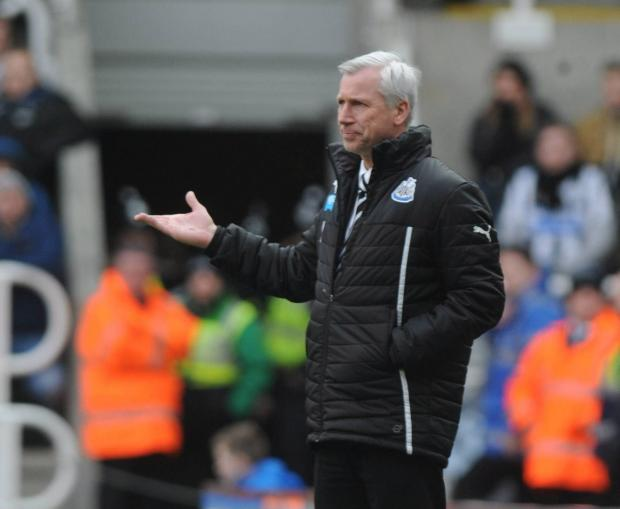 RIOT ACT: Alan Pardew has been tough on his players following their recent run of results