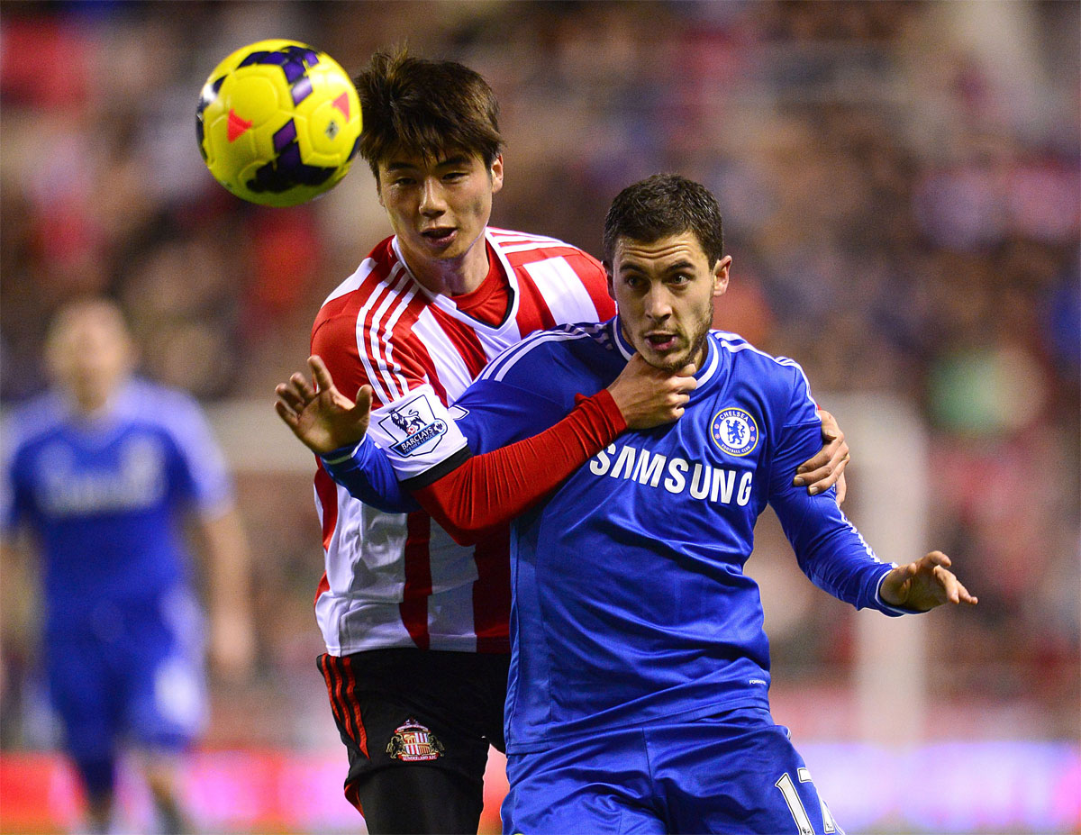 GETTING TO GRIPS WITH SUNDERLAND: Midfielder Ki Sung-Yeung