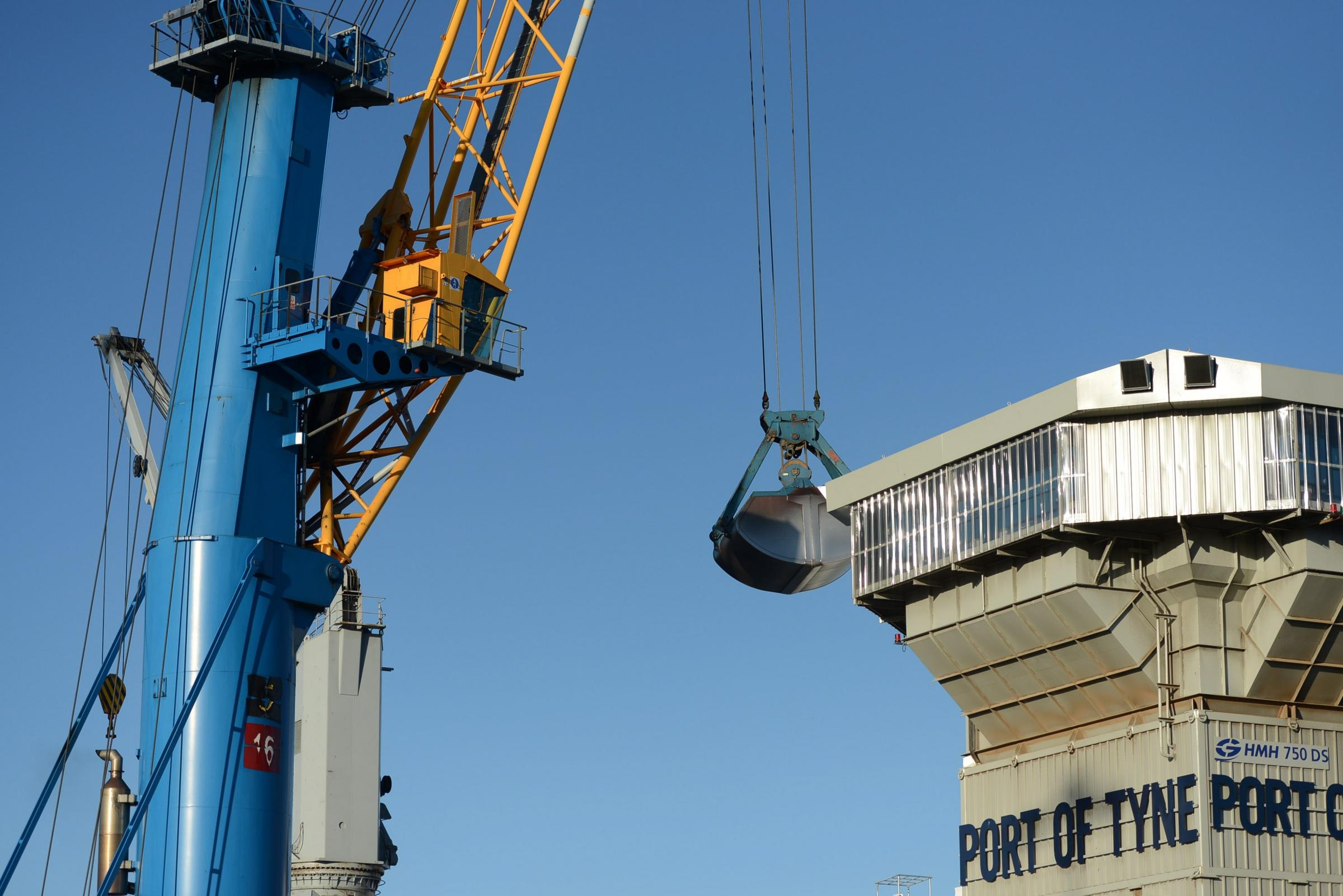 Investment in new infrastructure and equipment is helping The Port of Tyne to handle more cargo