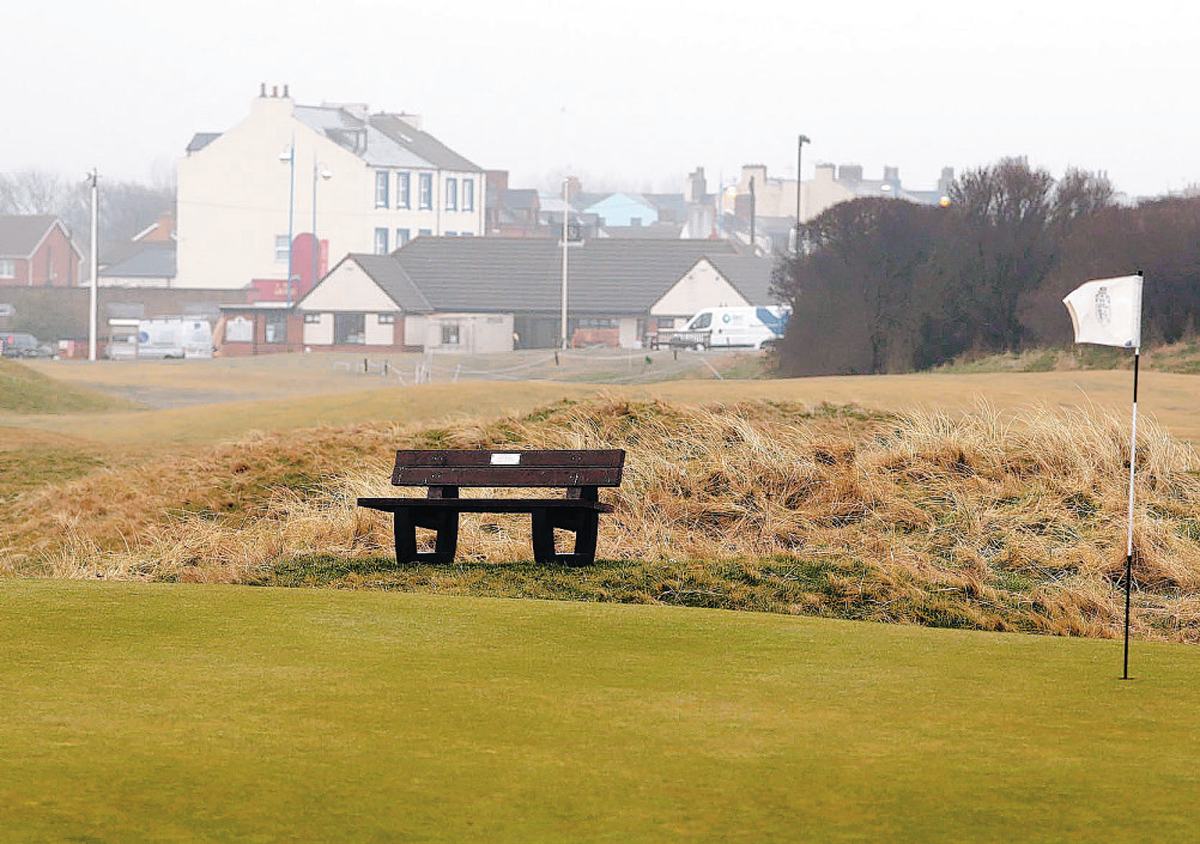 BEST AROUND: Seaton Carew's course has been named County Durham's finest