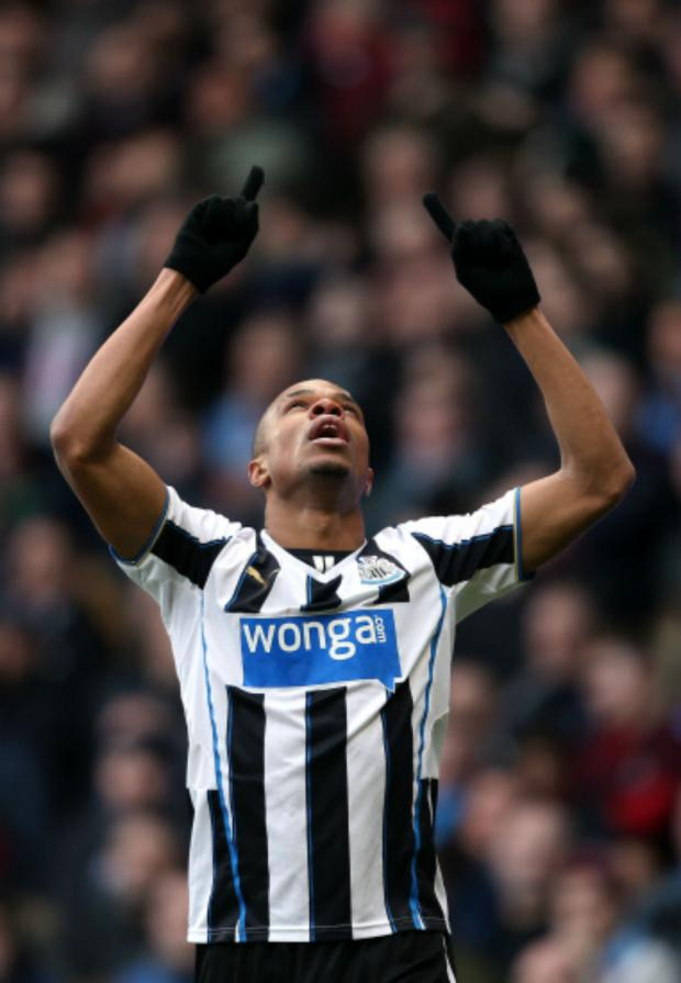 The Northern Echo: LATE WINNER: Loic Remy scored in stoppage time to secure a 1-0 win over Aston Villa