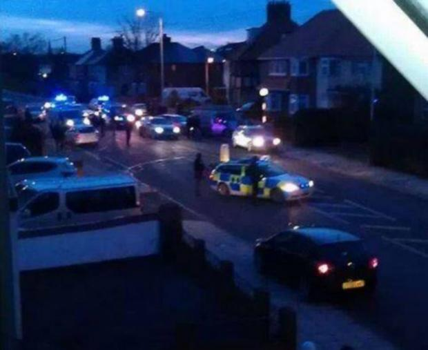Armed police arrest three men in Yarm Road, Darlington