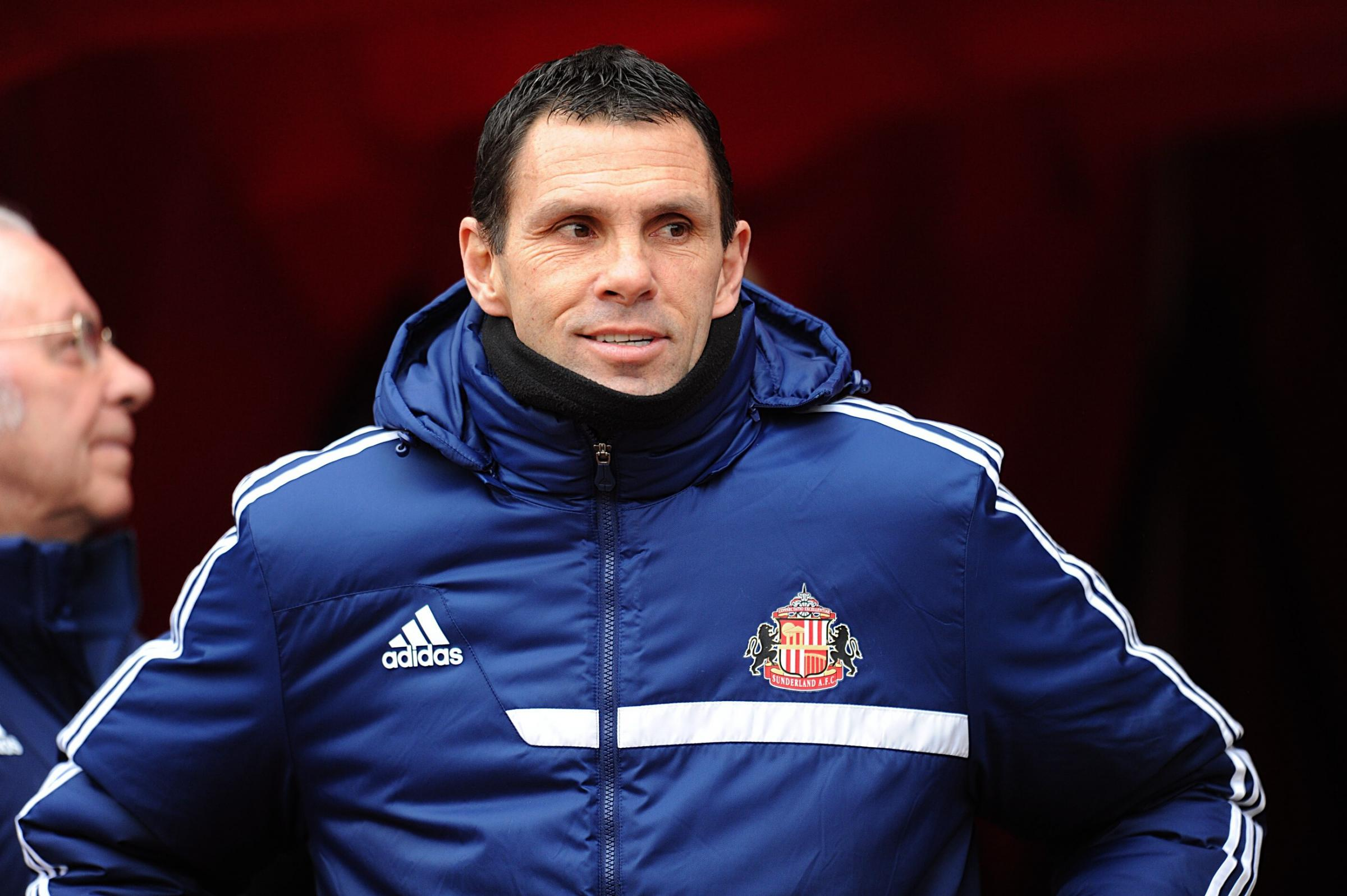 STAND BY YOUR MAN: Gus Poyet has backed Vito Mannone to bounce back from his costly error against Manchester City