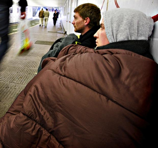 AT RISK: The risk of homelessness in Darlington is on the rise, but actual homelessness remains low