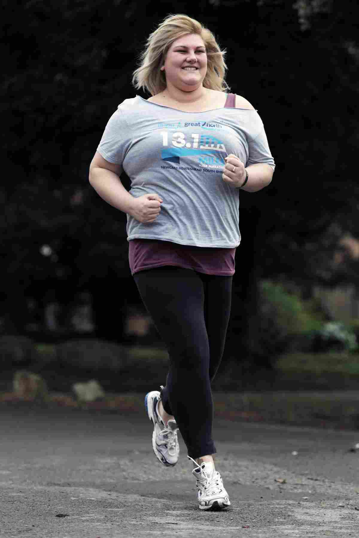 Fat chicks can run too, according to size 20 marathon runner