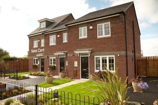 Yuill Homes development on Brierton Lane in Hartlepool