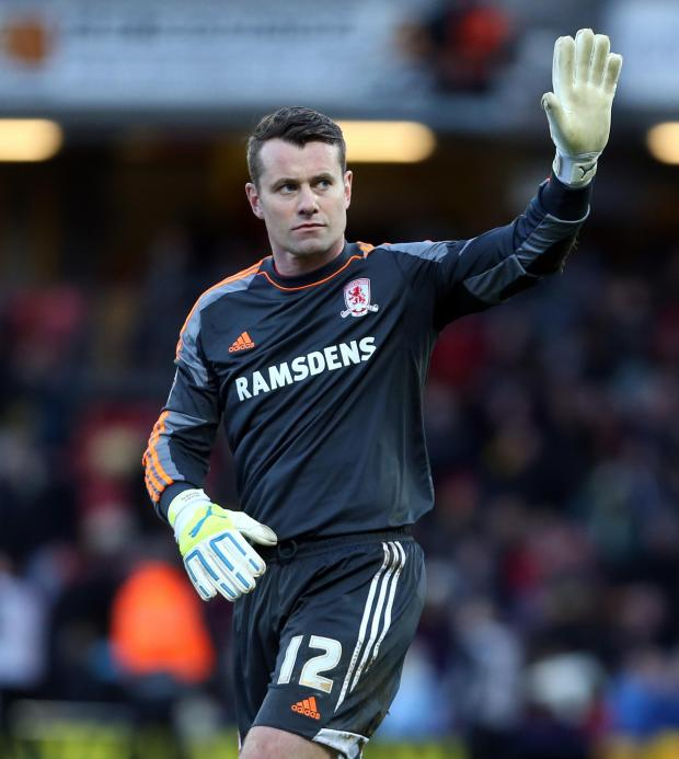 The Northern Echo: FINAL OUTING: Shay Given