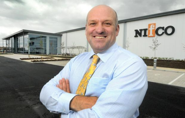 Mike Matthews, Nifco UK managing director and European operations officer