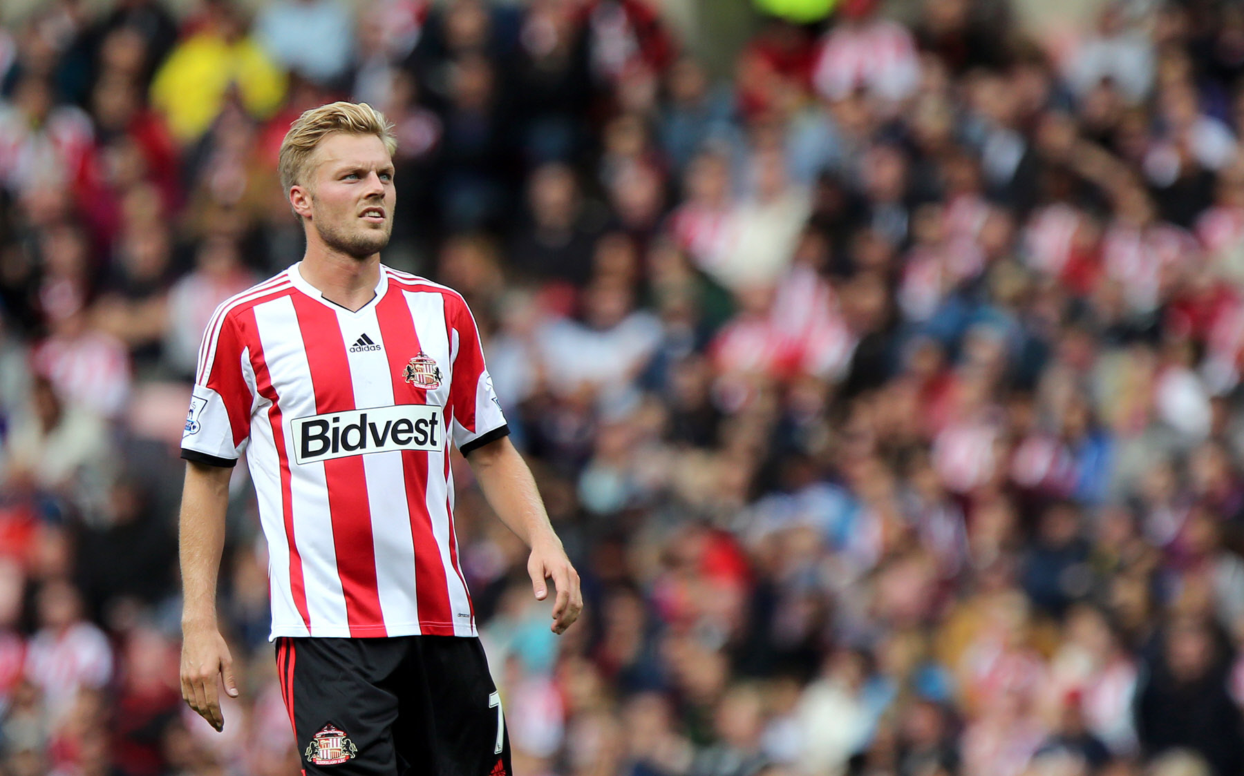 BEEN THERE: Sunderland midfielder Seb Larsson won the League Cup with Birmingham in 2011