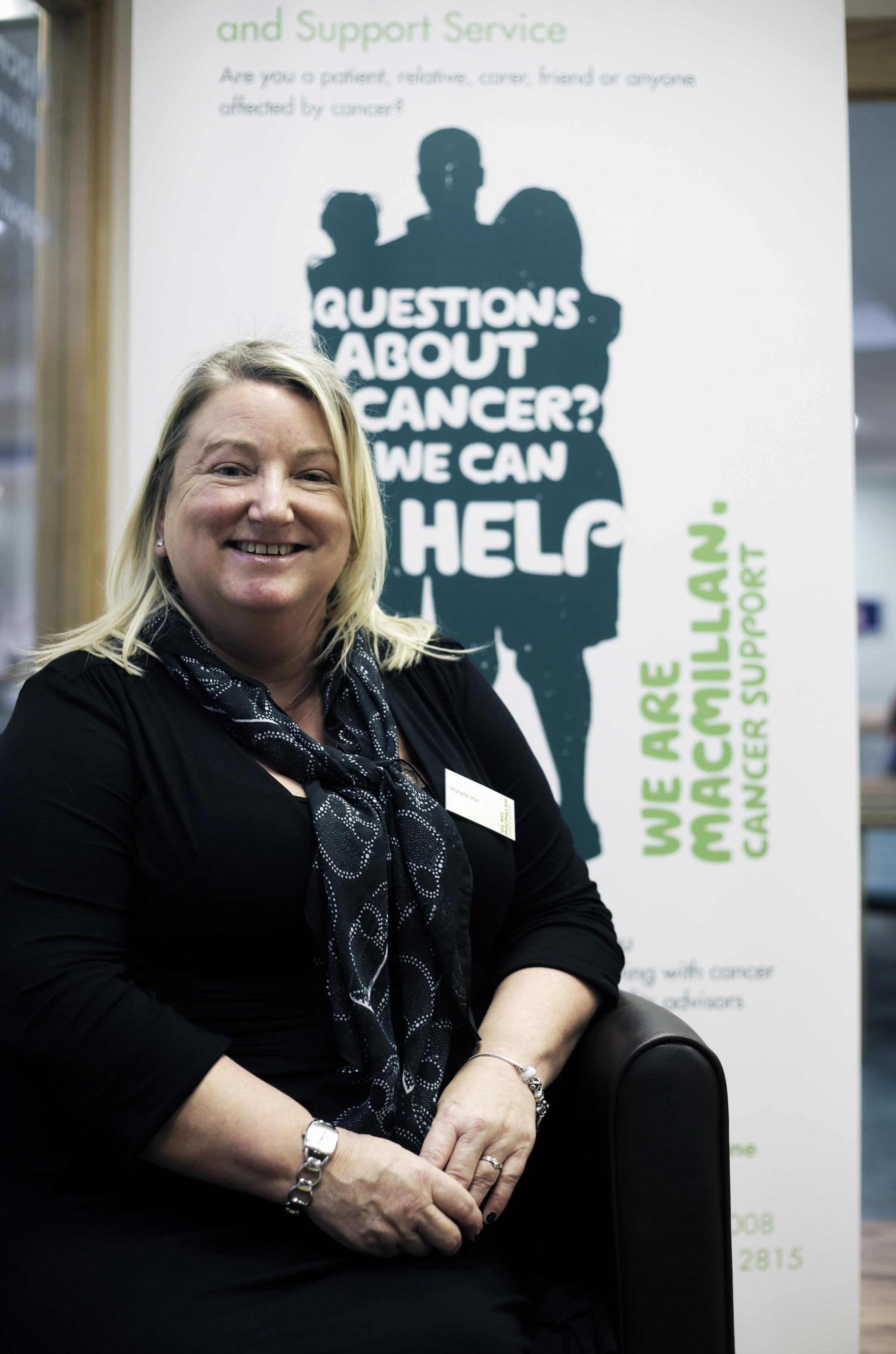 From collecting big cheques to climbing Kilimanjaro - welcome to the world of a Macmillan fundraiser