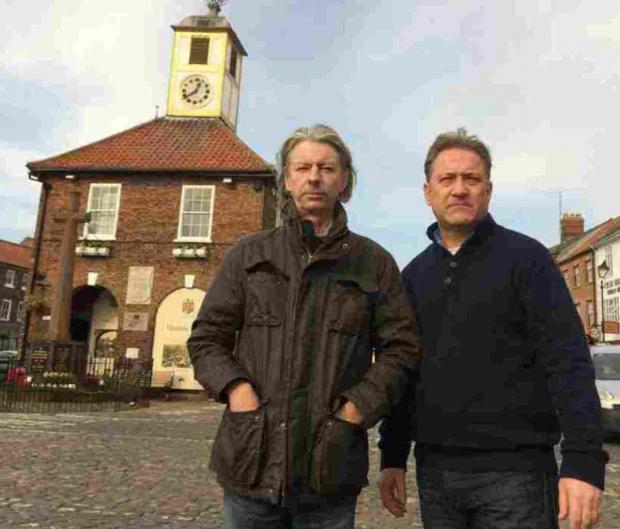Councillors Chris Johnson and Jason Hadlow have quit Yarm Town Council