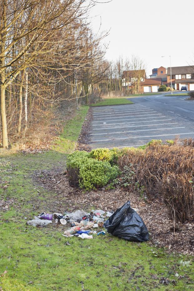 The Northern Echo: Rubbish at Abbey leisure centre