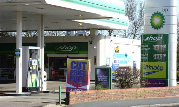 The Northern Echo: Lower prices on forecourts helped inflation to drop