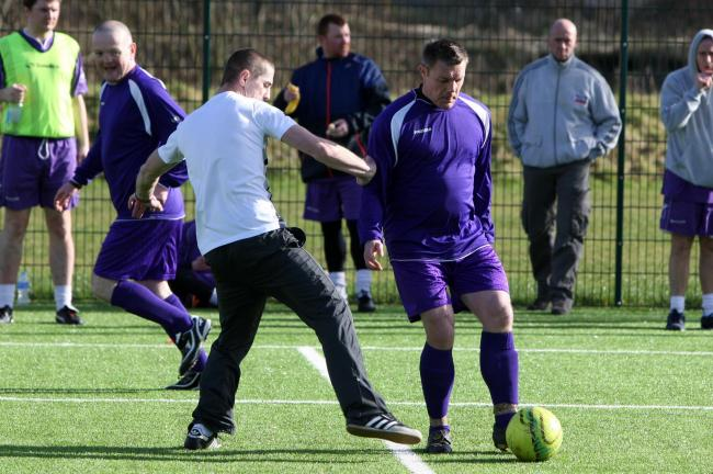 TACKLING ISSUES: Football tournament to help homeless and recovering addicts