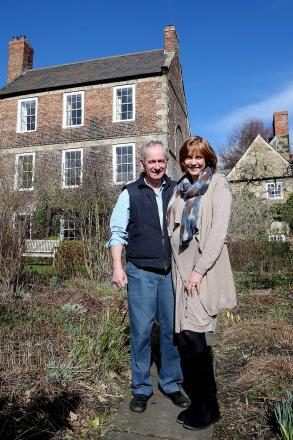 Owners Keith and Maggie Bell at Crook Hall