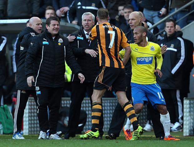 Alan Pardew has been charged with improper conduct after his confrontation with former Sunderland midfielder David Meyler