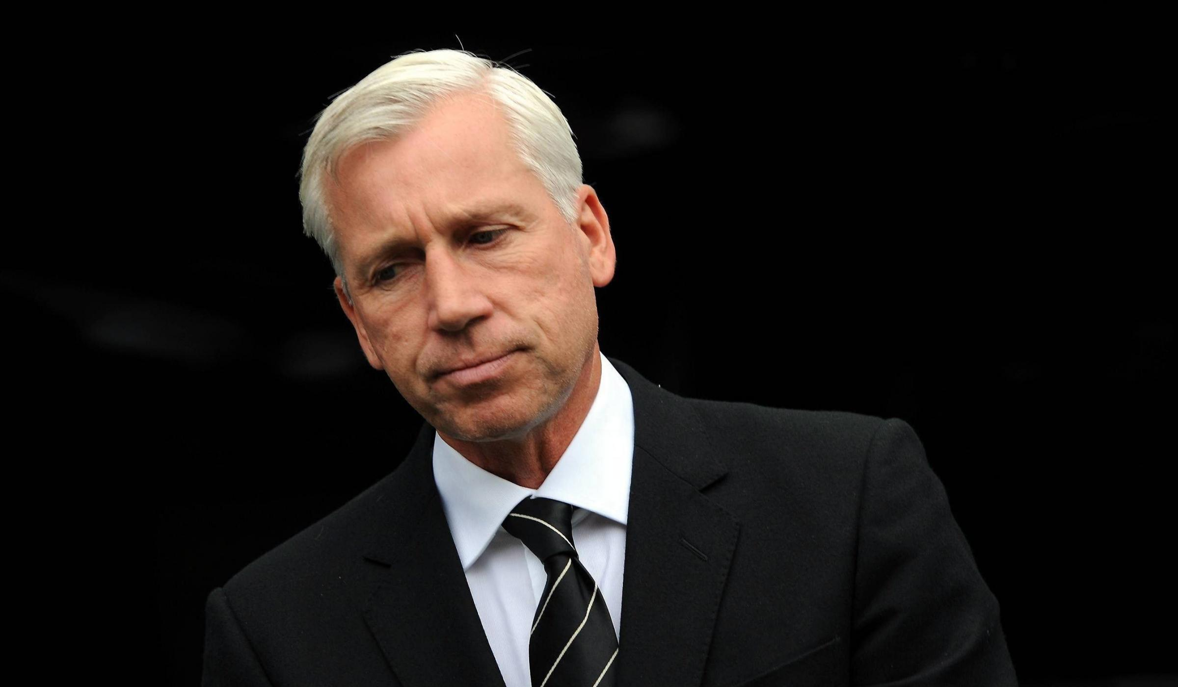 SHOW OF SUPPORT: Alan Pardew wants Newcastle supporters to back his players rather than protest against the regime during today's final home game of the season against Cardiff City