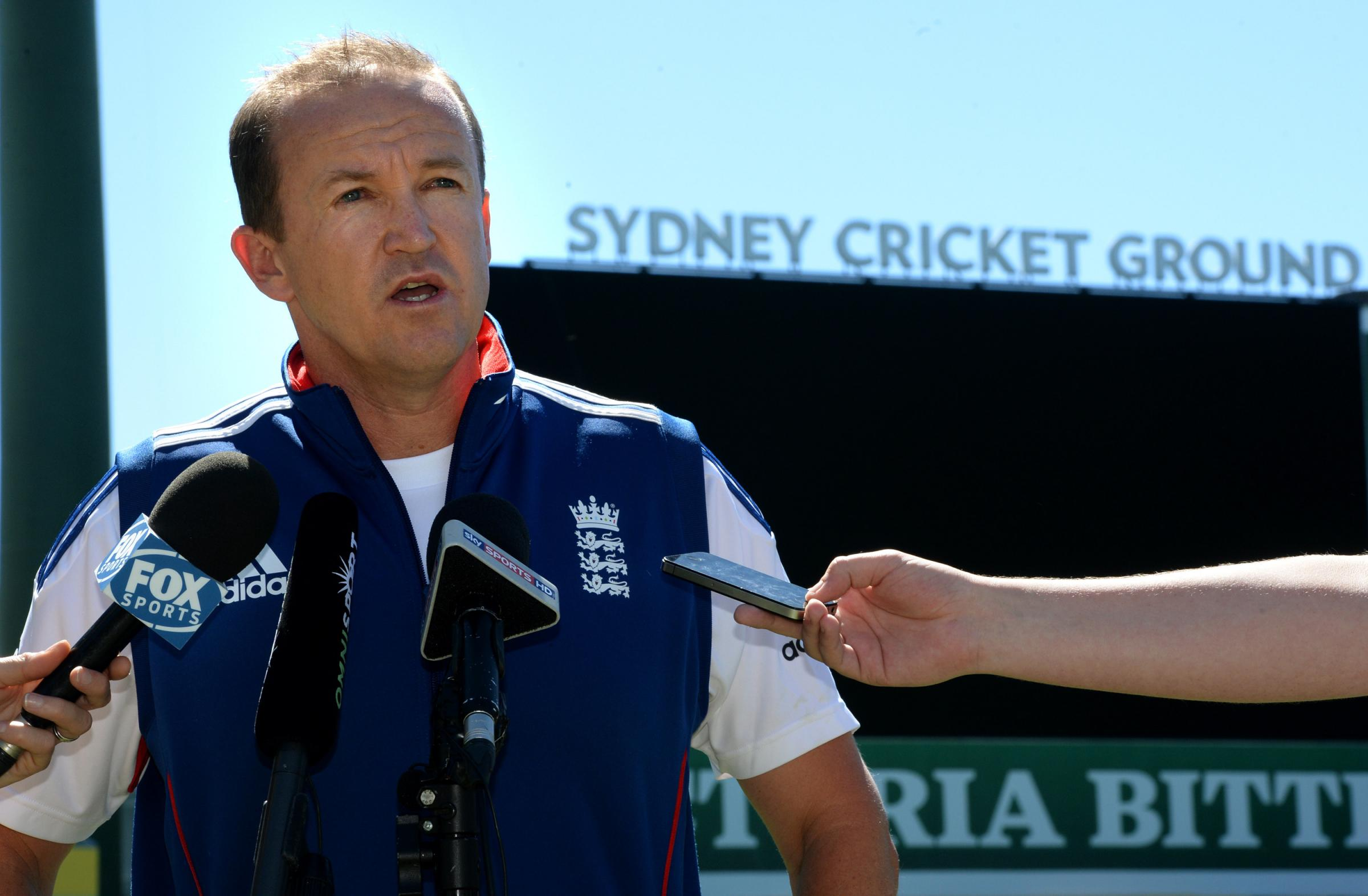 NEW ROLE: Former England coach Andy Flower has been appointed technical director of elite coaching by the ECB