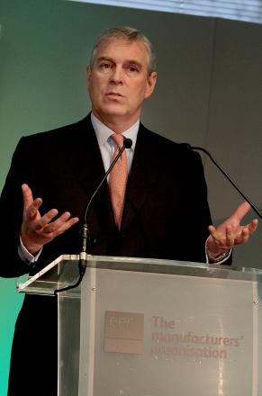 ROYAL VISITOR: HRH Prince Andrew