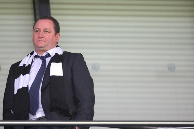 NEW APPROACH: Mike Ashley's transfer meeting with Alan Pardew and Graham Carr suggests there is unlikely to be a direct replacement for Joe Kinnear as director of football