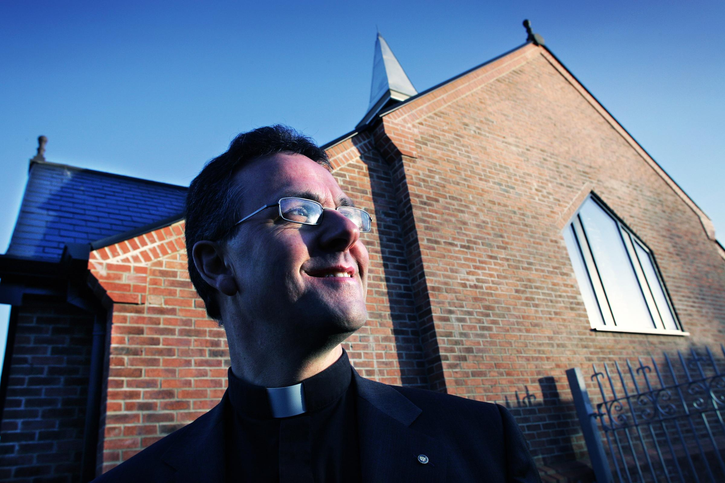 NEW ROLE: The Very Reverend Canon John Dobson, who is moving from Darlington to Ripon