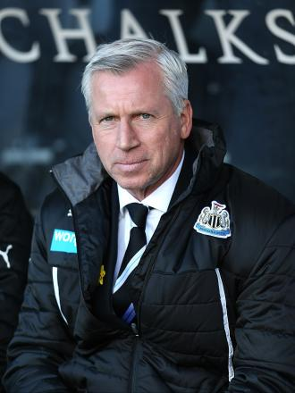 YOUNG GUNS: Newcastle manager Alan Pardew admits the club must work harder to bring th