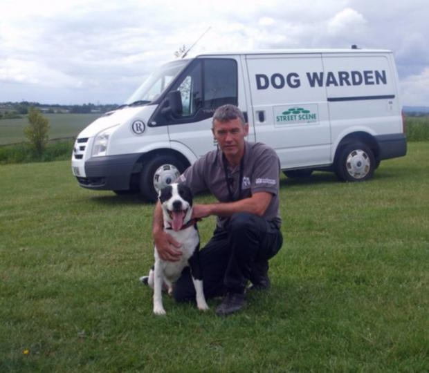 An image from the Dog Warden Facebook site