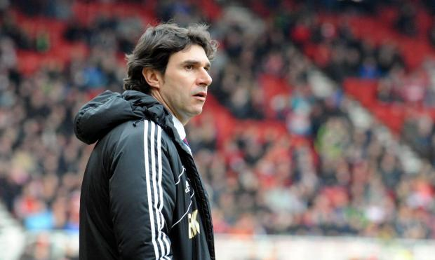 MIXED FEELINGS: Aitor Karanka