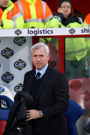 LOOKING FOR IMPROVEMENTS: Alan Pardew has been working with his defence this week in an attempt to ensure there is no repeat of last weekend's capitulation at Southampton