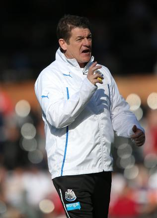 TALENT SPOTTER: Newcastle coach John Carver