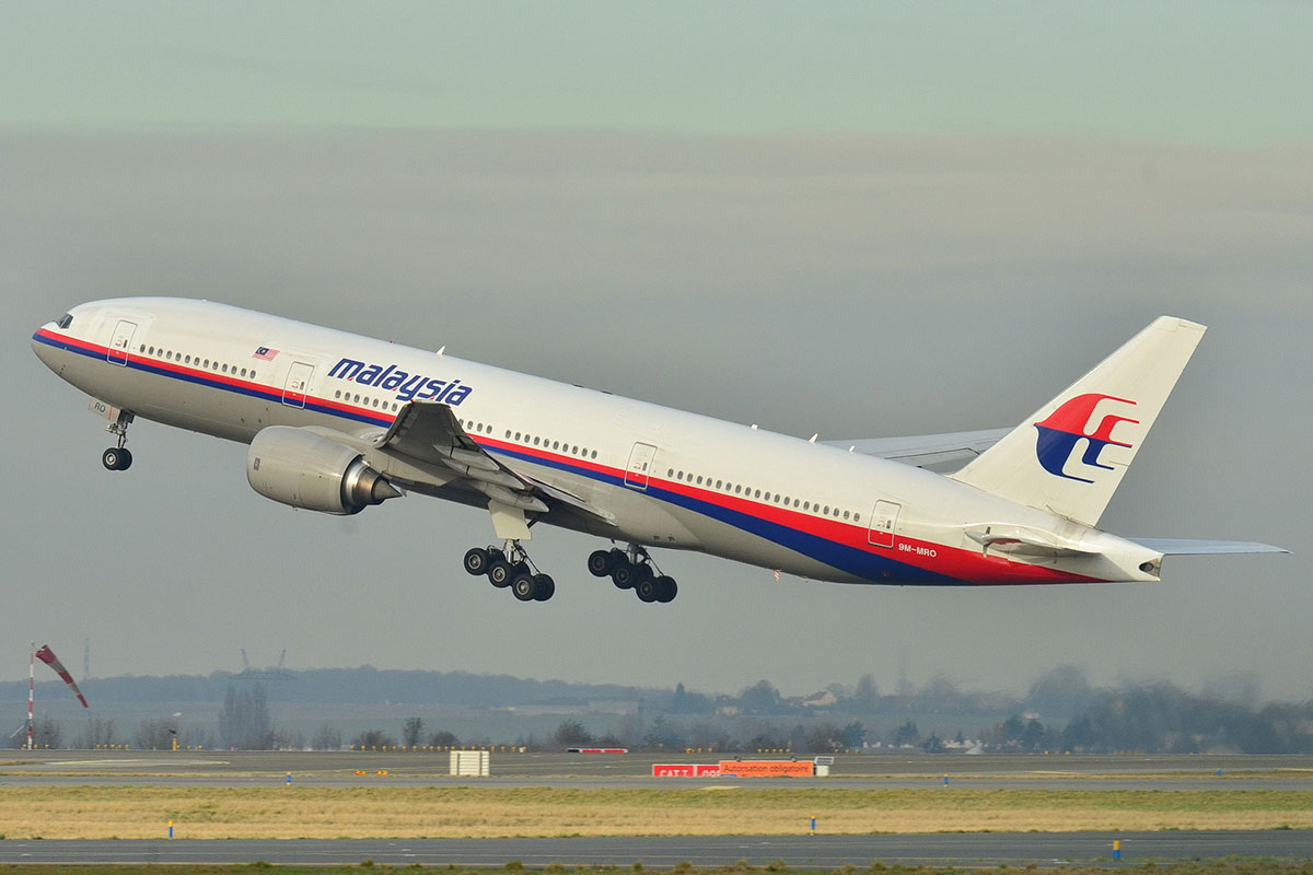 The missing Malaysia Airlines Boeing 777-200ER