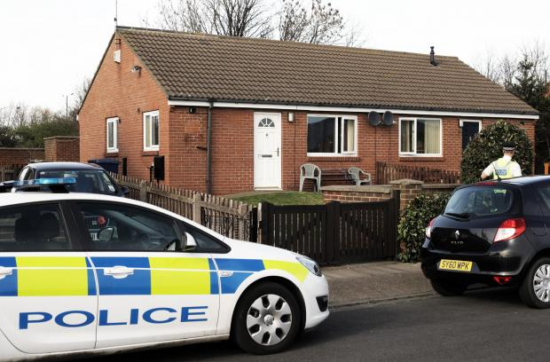 29 Salisbury Terrace, South Bank, Middlesbrough, where a body was found
