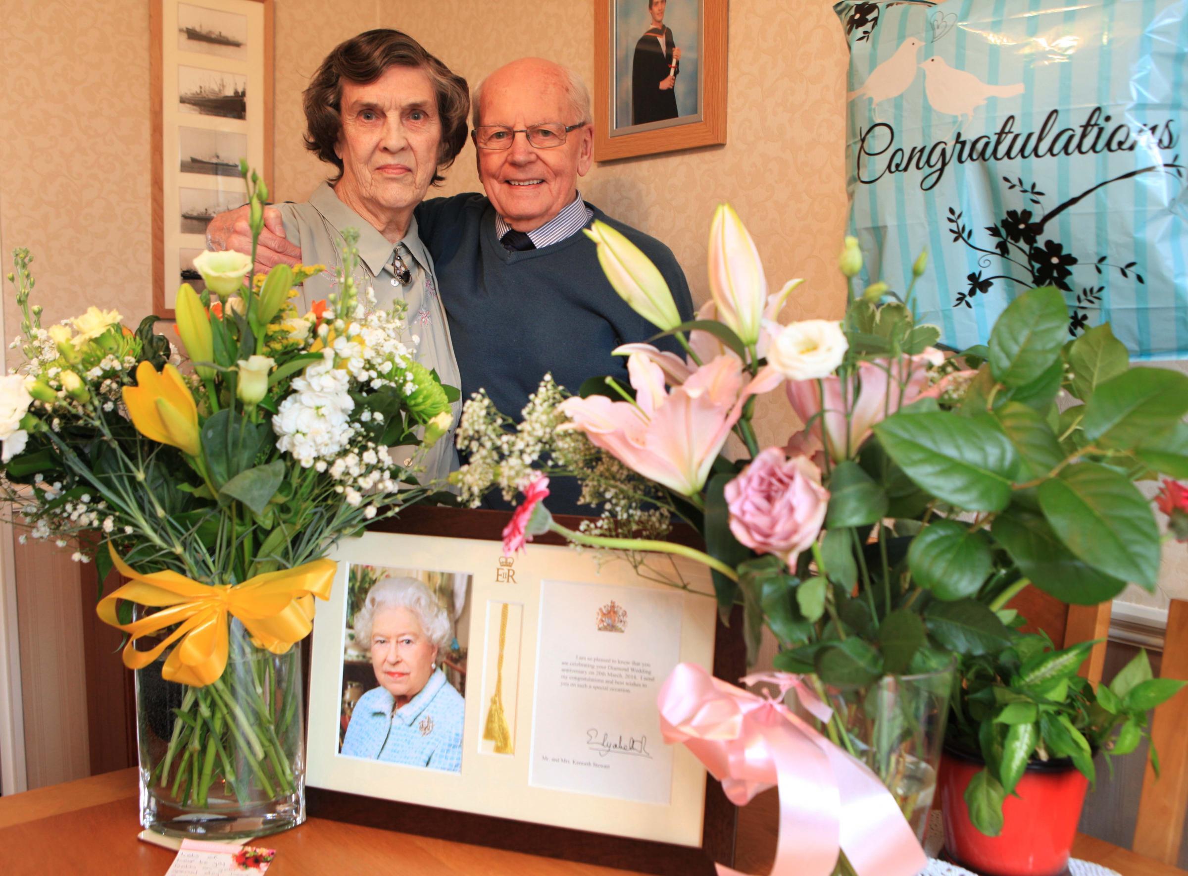 Diamond Couple Celebrate 60th Wedding Anniversary The Northern Echo