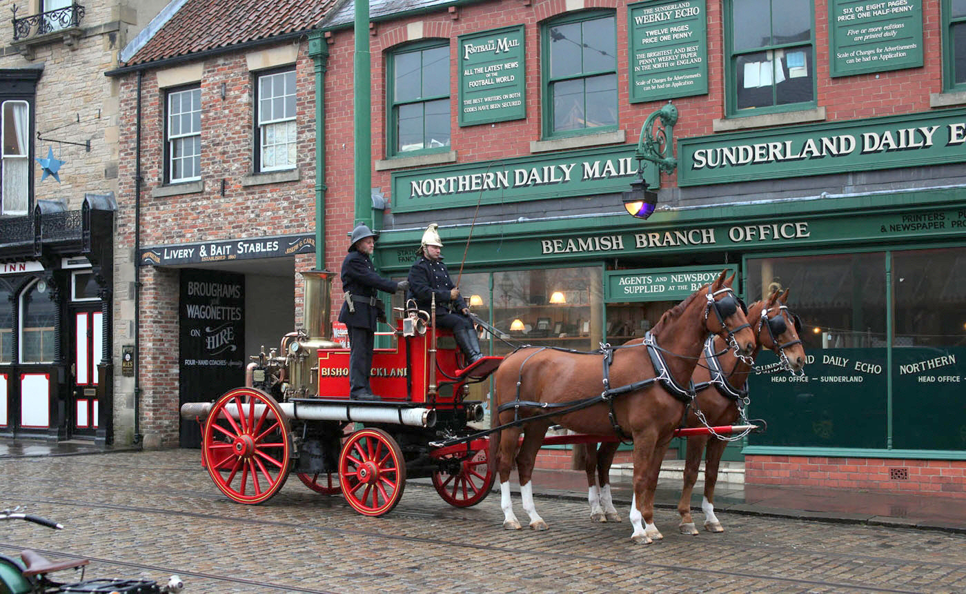 Mini-break: Beamish Museum has teamed up with Lumley Castle