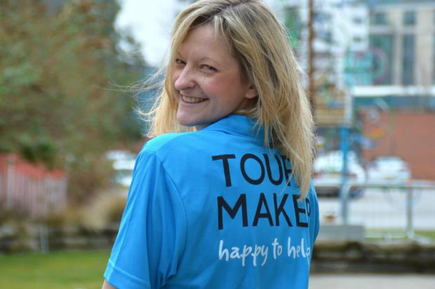 Becky Clarke, 35, from Bingley is one of the 12,000 Tour Makers who have now been chosen