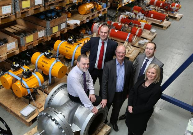 Process Control Equipment in Thornaby is the first firm to benefit from the Tees Valley Catalyst Fund