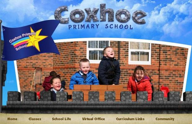 The new Coxhoe Primary School website