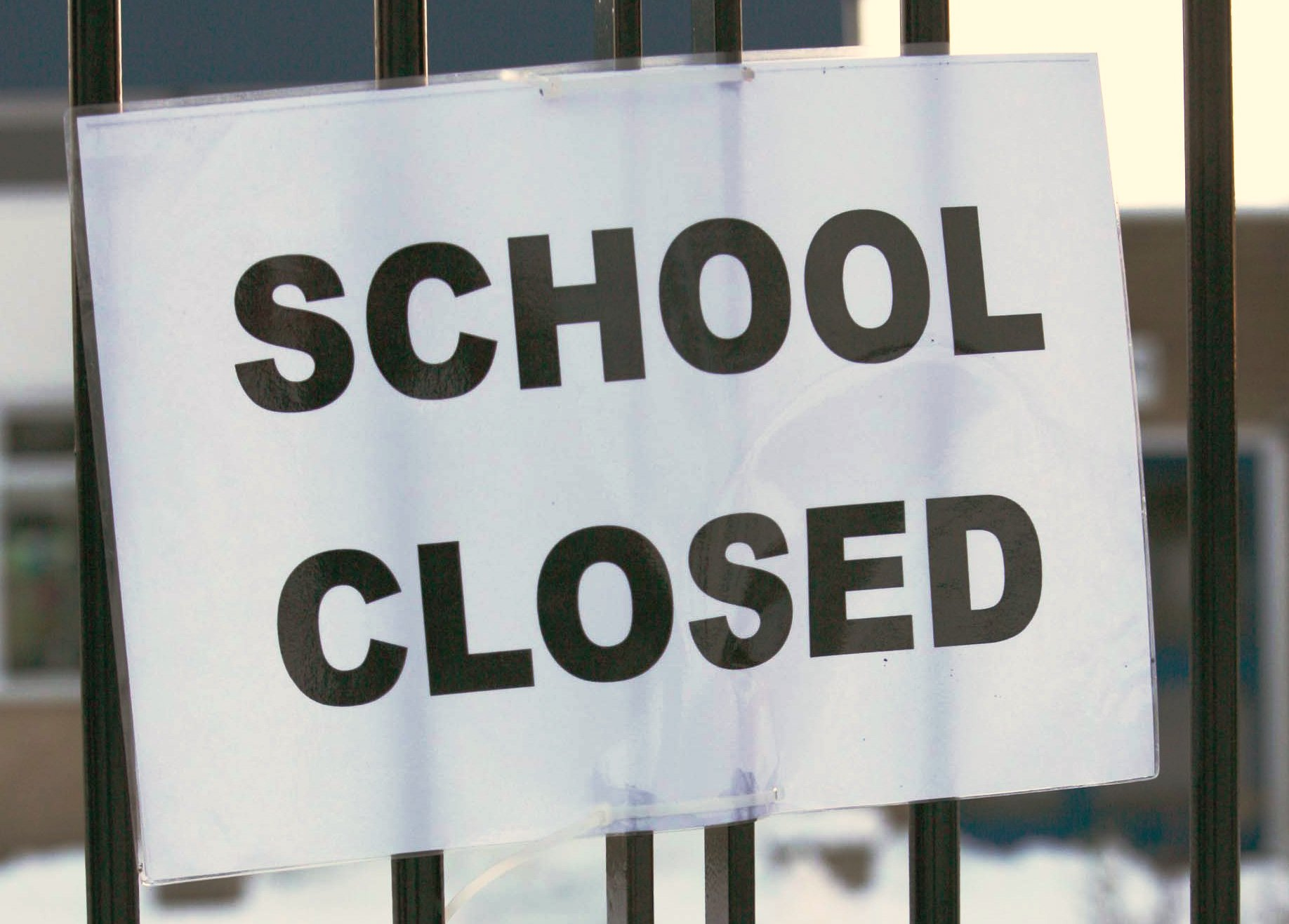 SCHOOL CLOSED: Hundreds of schools in the region are affected by Wednesday's strike action