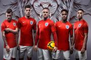 England players sporting a similar kit to that of '66