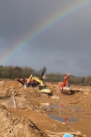 Building work taking place at Hitachi's 730 jobs Newton Aycliffe factory