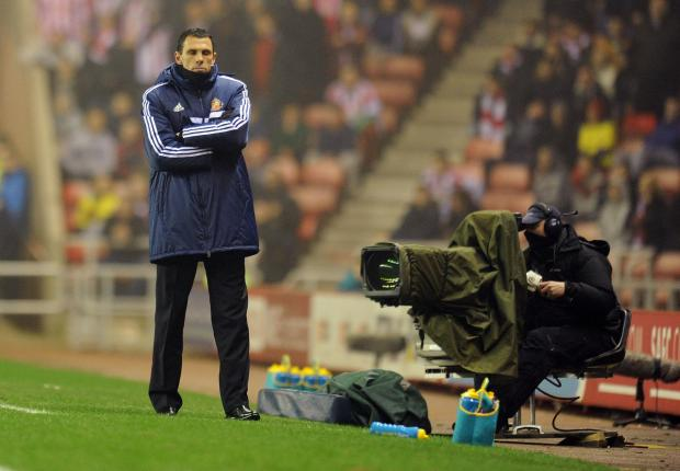 Cares: Gustavo Poyet has long term aims